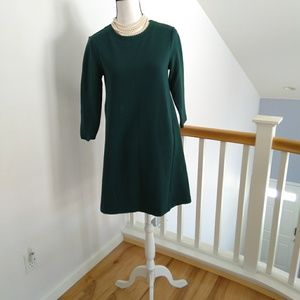 Boden teal midi dress size 6
